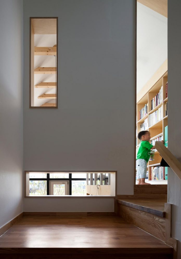 A House With Various Joyful Spaces Becomes A Playground