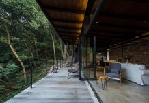 "Stunning hotel that focuses on the notion of ""sitting face to face"" with nature"