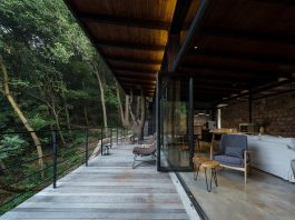"""Stunning hotel that focuses on the notion of """"sitting face to face"""" with nature"""