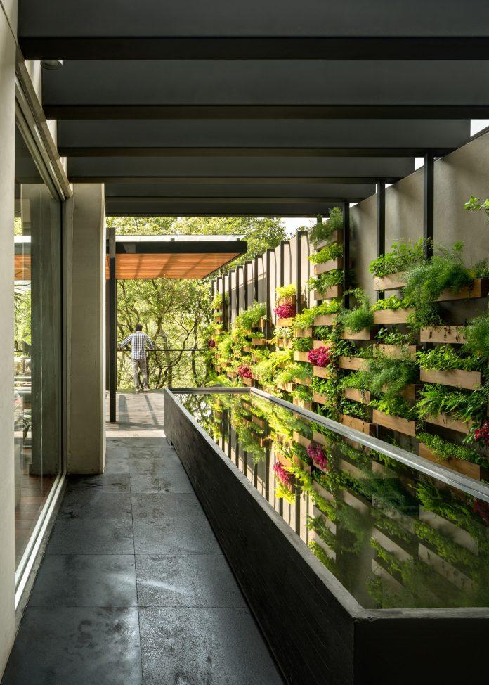 Villa jard n by asp arquitectura sergio portillo for Jardin 974