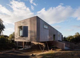 Aireys Ramp House - a holiday escape space protected from the suburban street and south west conditions