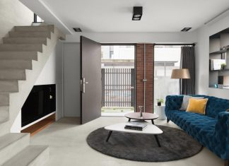 Dual Concepts project which combines two styles: the modern interior and the beautiful history and aged feel of the building