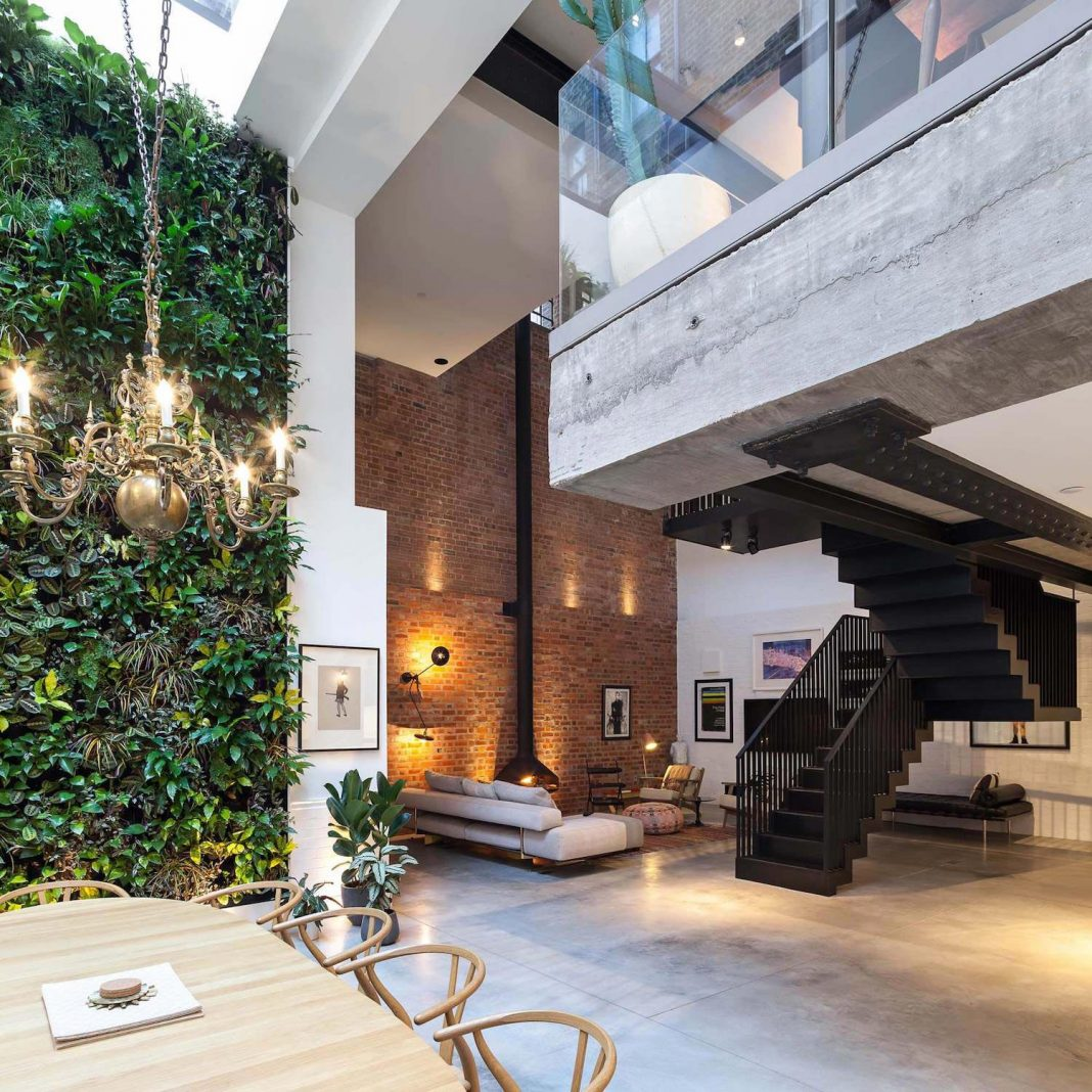 The extension and renovation of a property located on a constrained former industrial site in central London