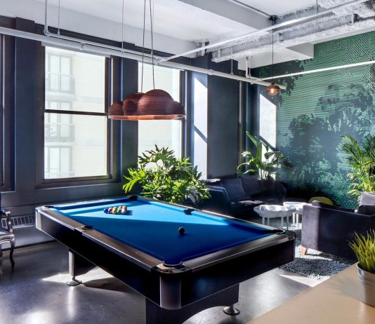 A fun, varied and vibrant office located on Park Avenue South