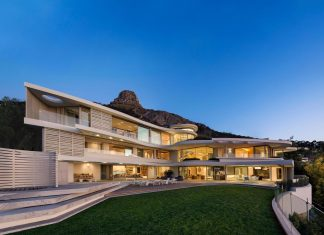 Lion's View: a two-storey opulent house and a statement of architectural and design excellence by ARRCC and Saota