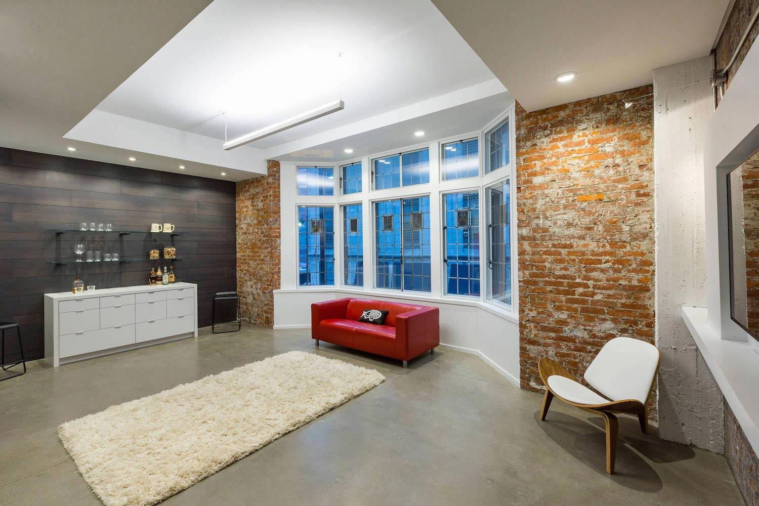 Modern authentic loft like living environment expressed industrial yet refined aesthetic ryan duebber architect caandesign 09
