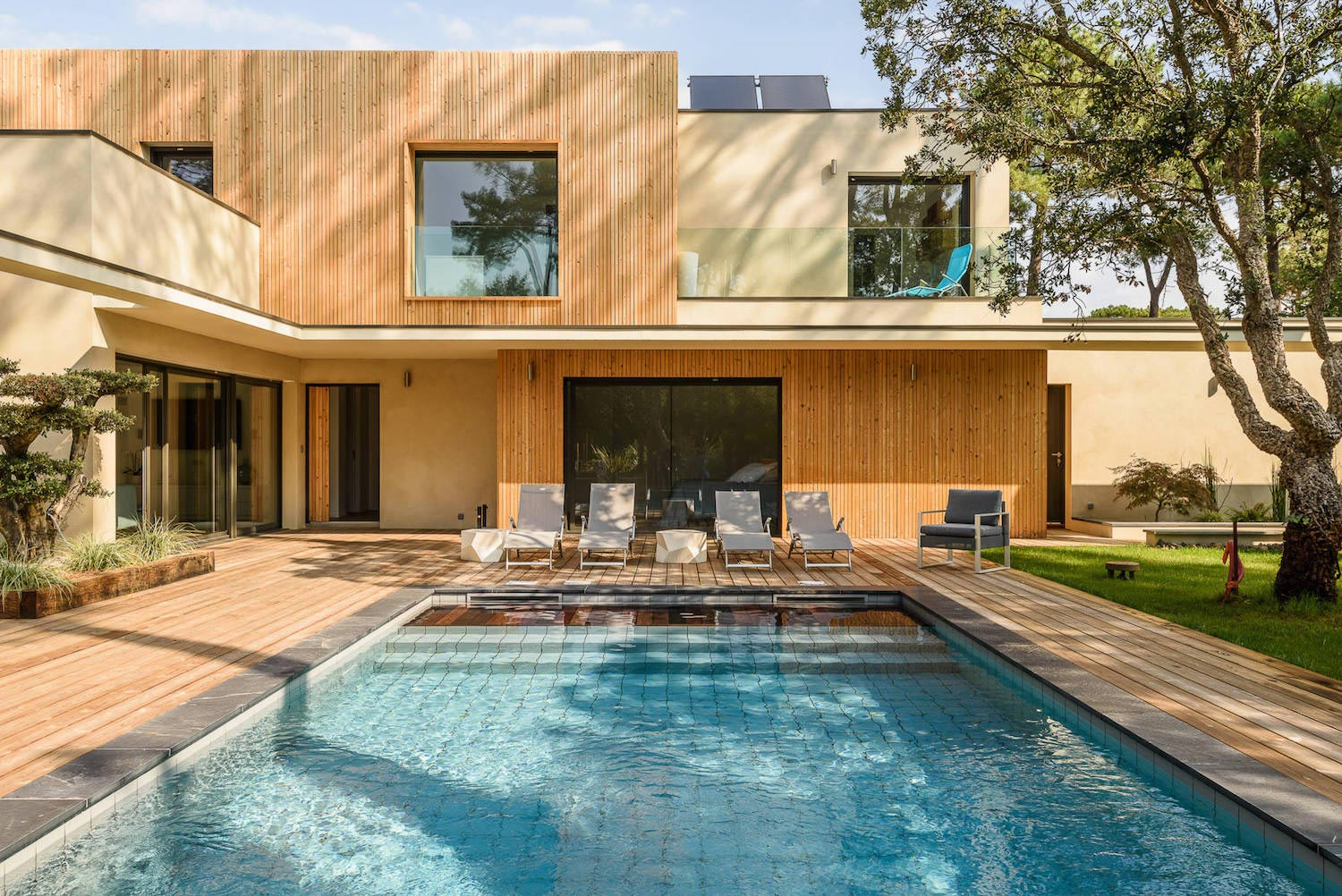 Modern Wooden Residence Surrounded By Greenery Caandesign Architecture And Home Design Blog