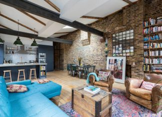 Penthouse in London defined by a rustic design by HouseUP