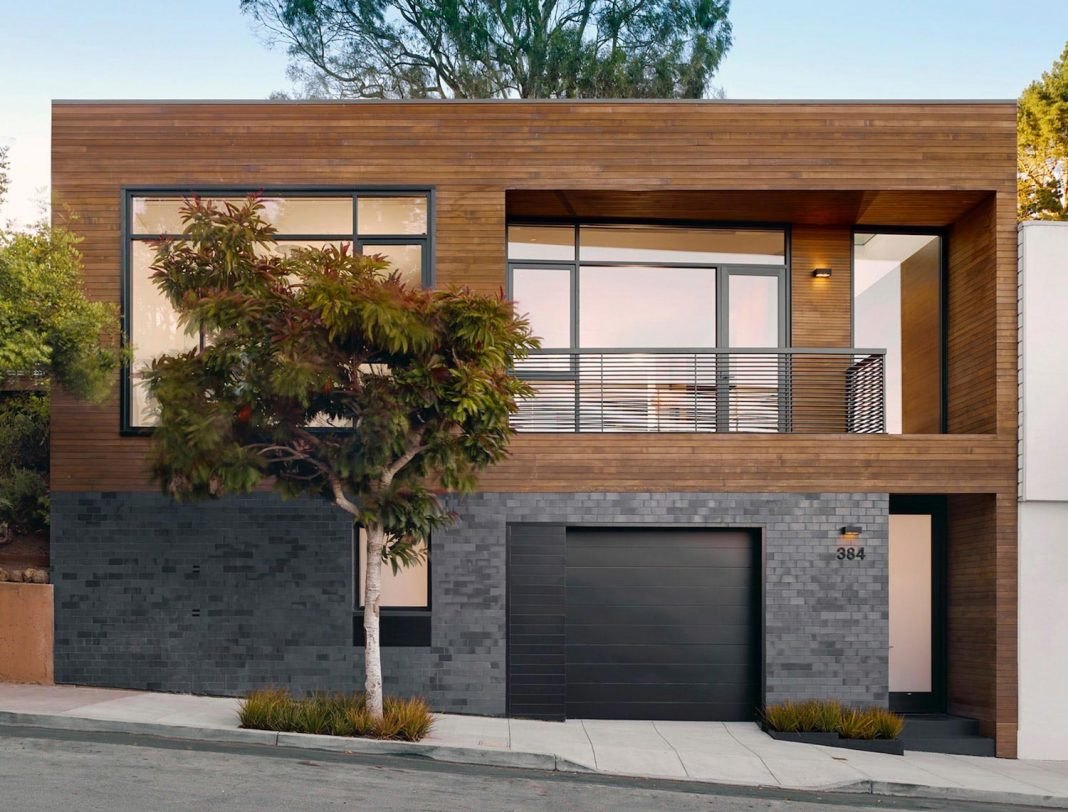 Renovation of a non-descript 1930's mid-block bungalow for a young San Francisco family