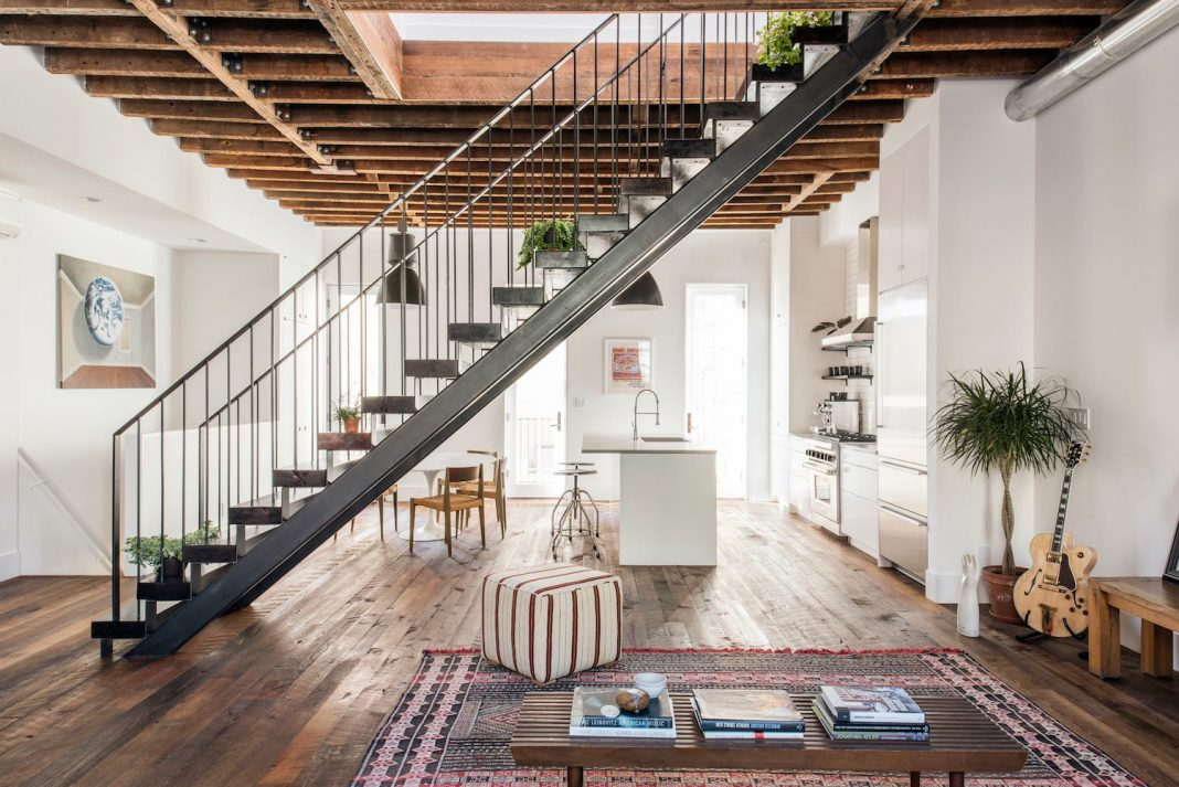 Two-family house with a rustic feel of an urban home - CAANdesign ...
