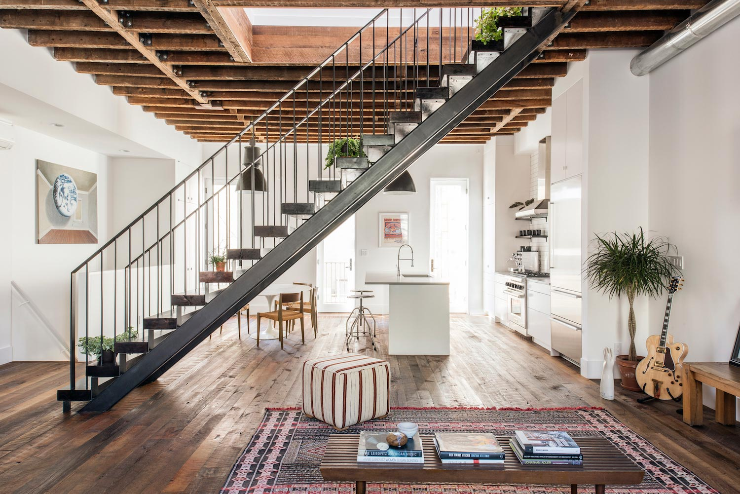 Two Family House With A Rustic Feel Of