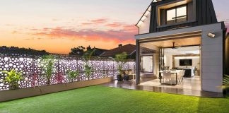Contemporary two story house in Chiswick, Australia by Base Building and Projects