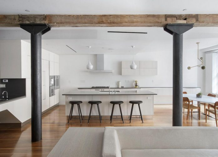Loft transformed into a clever and casual new home for a young family