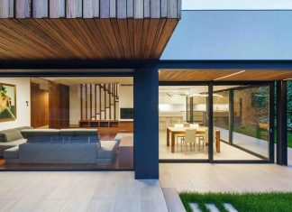 New building that aesthetically expresses its residential function in a contemporary way with a minimal energy waste