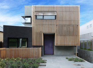 Raw aesthetic characterised by the exposure of natural timber and galvanised steel