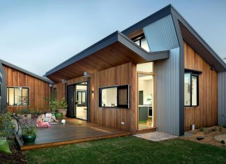 Striking roofscape, contemporary finish, flexibility and a focus on outdoors and family