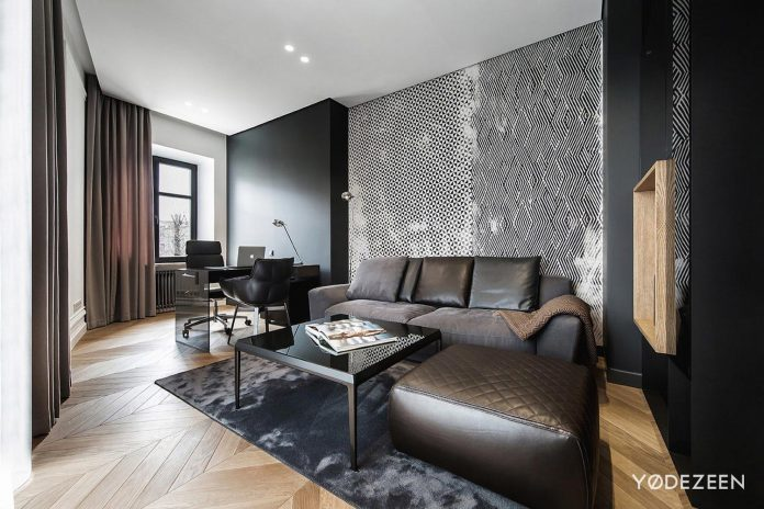 The Composition Of The Apartment Includes Two Main Areas: Public And  Private. The Modern Space Was Designed With Function And Beauty In Mind.