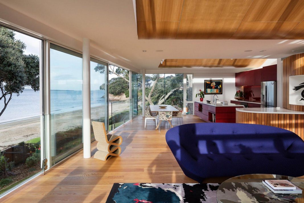 Warm And Comfortable Interior Of A House Which Contrasts