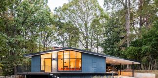 A well-loved, 1960's house designed by in situ studio