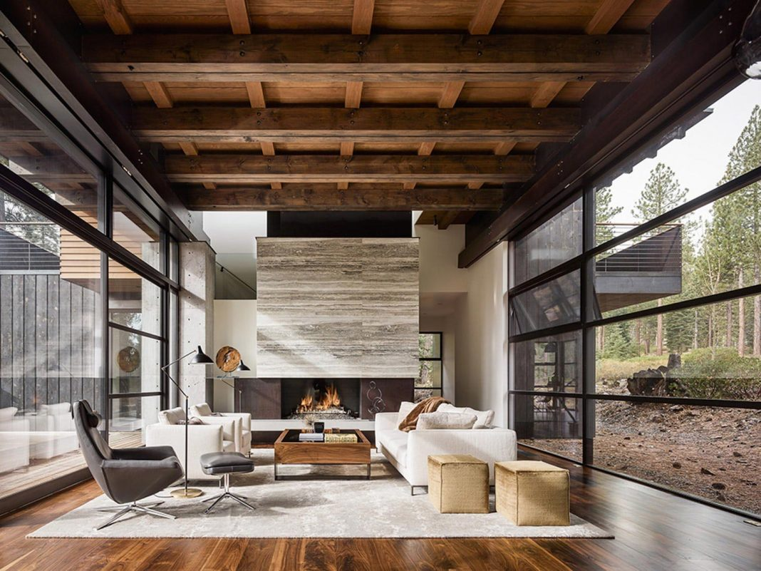 A family holiday gathering place by Faulkner Architects
