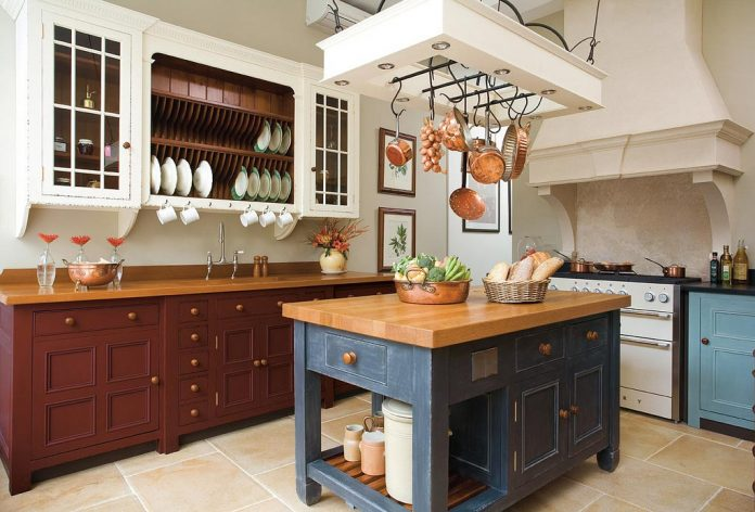 Some Simple Tips And Tricks On How Tiles Can Help You Get A Charming  Country Kitchen. Pair These Tiles With Distressed Furnitures Such As Tables  And Worn ...