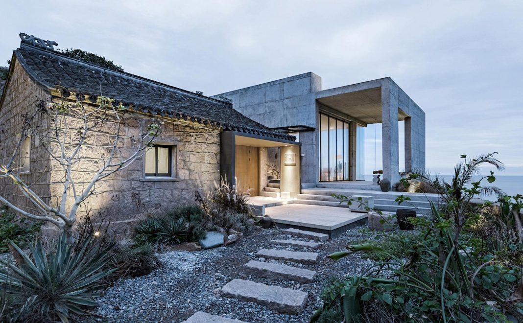 Rural house renovation where modern day aesthetics and old for Modern day house plans
