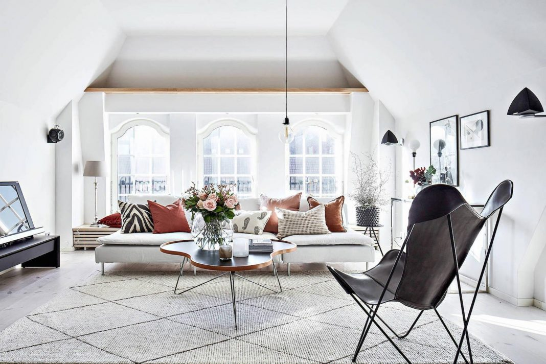 Scandinavian style apartment in Gothenburg designed to ...