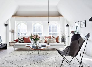 Scandinavian style apartment in Gothenburg designed to offer all you can need with fewer furniture
