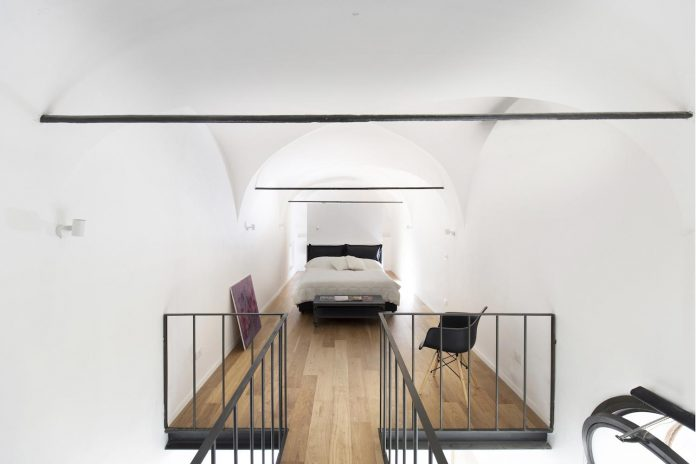 Tiny Loft With Clever Storage And Space Saving Solutions