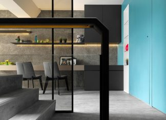 The transformation a townhouse into a totally brand new home – all because a wall was removed