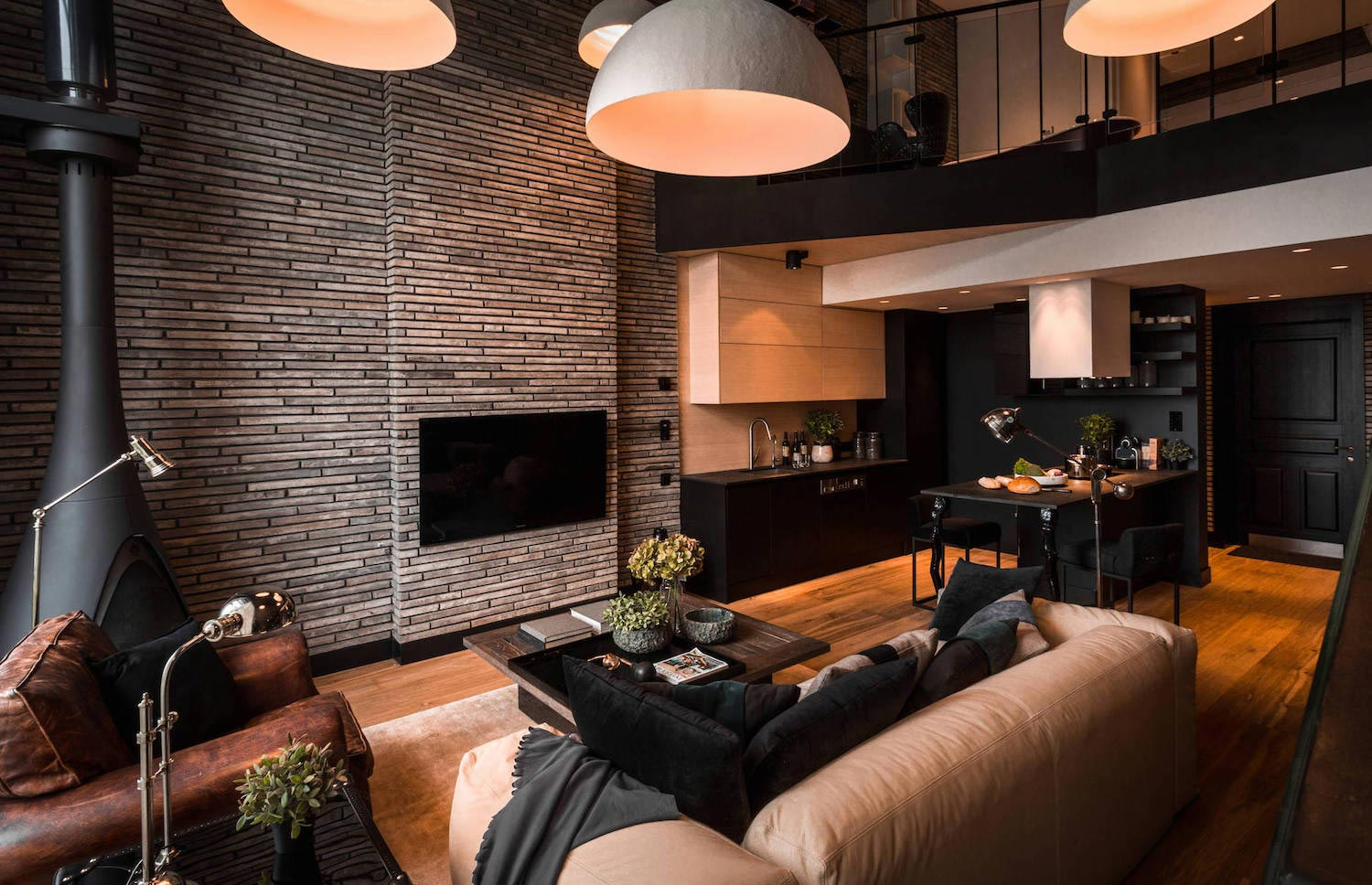 Contemporary Manhattan Loft In Moscow Designed By Inre