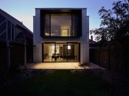 House respectfully upgraded and restored with a new openness that connects the areas