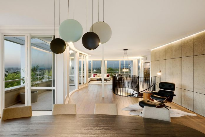 Elegant Restore And Rejuvenate The Penthouse Suite Within A 60s Apartment Tower