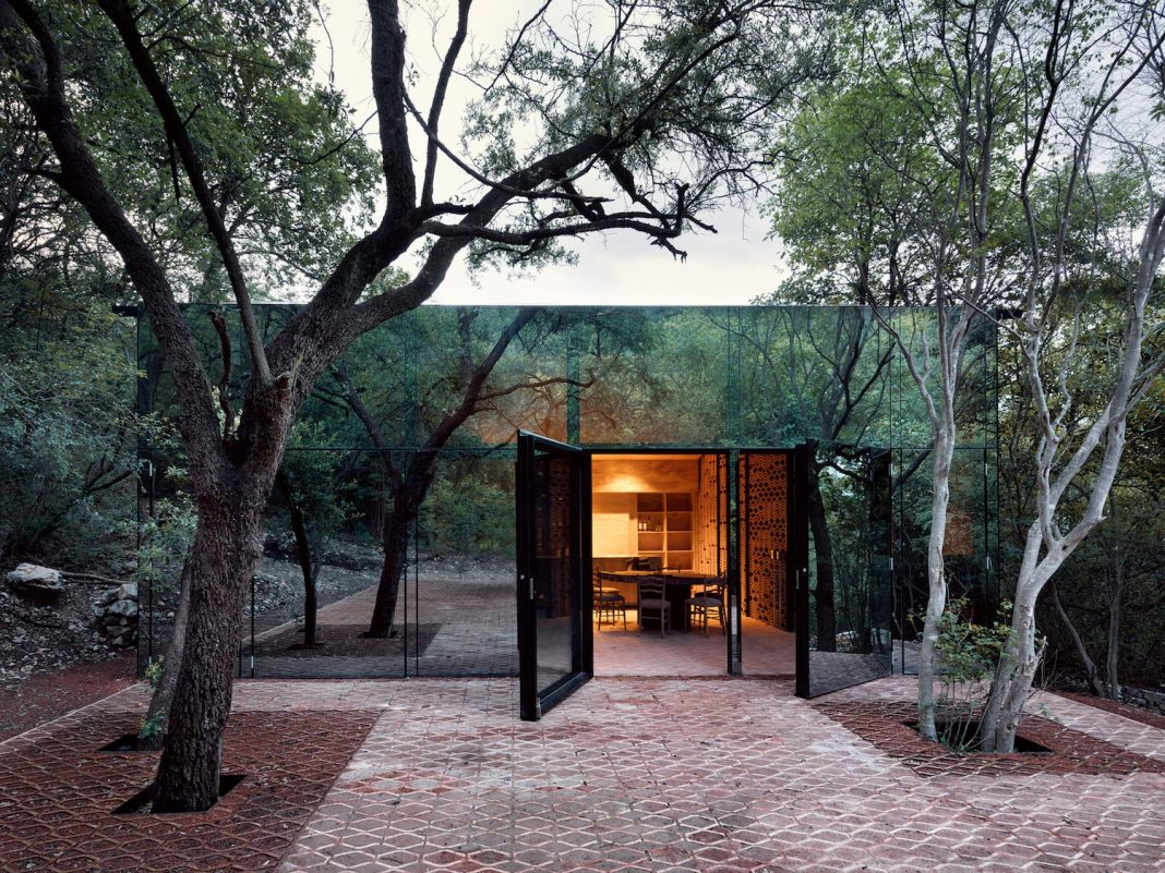 Dream house in a highland forested zone