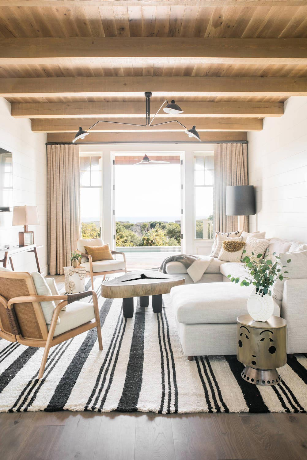Lovely traditional beach house in South Carolina is converted into a bright contemporary homeby Cortney Bishop Design