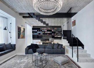 Oooox designed this contemporary apartment in the old town of Prague