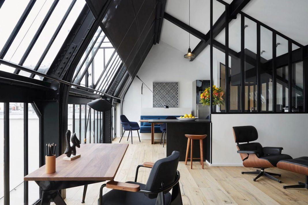 Tête dans les Etoiles apartment hotel designed by François Champsaur