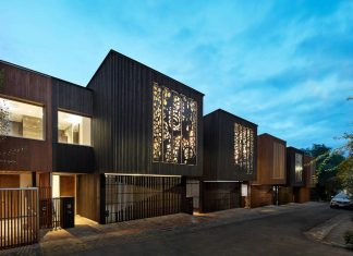Heritage setting with contemporary sustainable design, redefining typical urban townhouse design