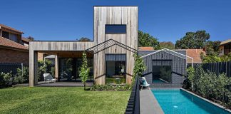 Hide House Extension in Melbourne by Mani Architecture