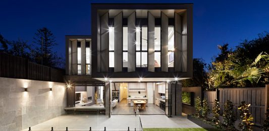 Conversion of a freestanding Edwardian home into a modern home design with light filled open spaces and clean lines