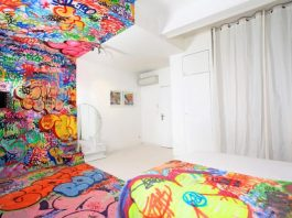 5 cool interior graffiti ideas