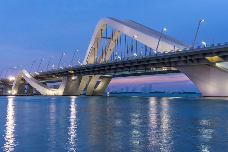 Bridge in Abu Dhabi