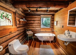 Ideas on How to Give Your Bathroom a Rustic Look