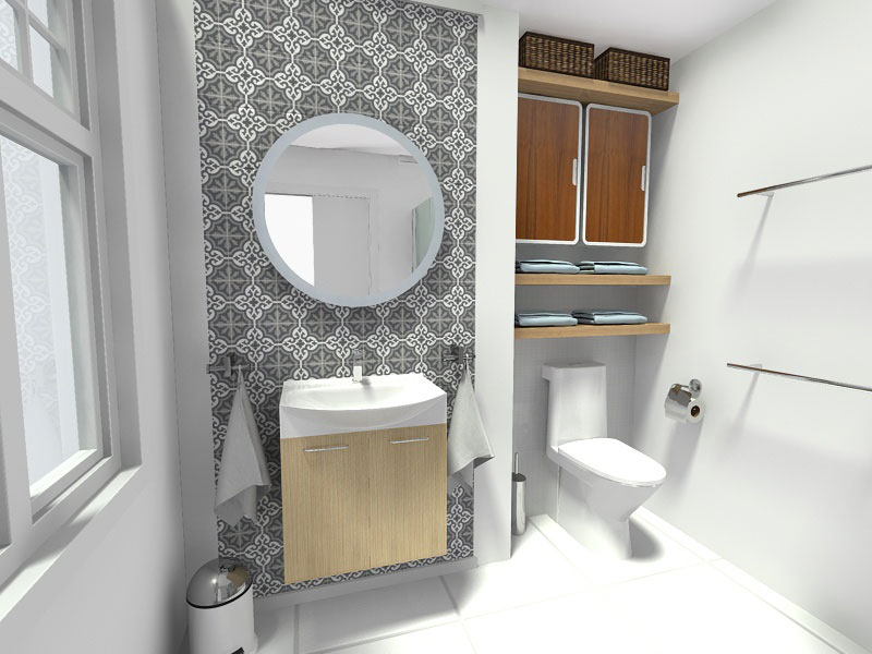 small bathroom