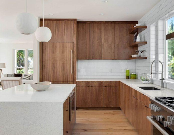 benefits of L-shaped kitchen