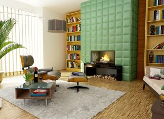 bookcase trends in living room