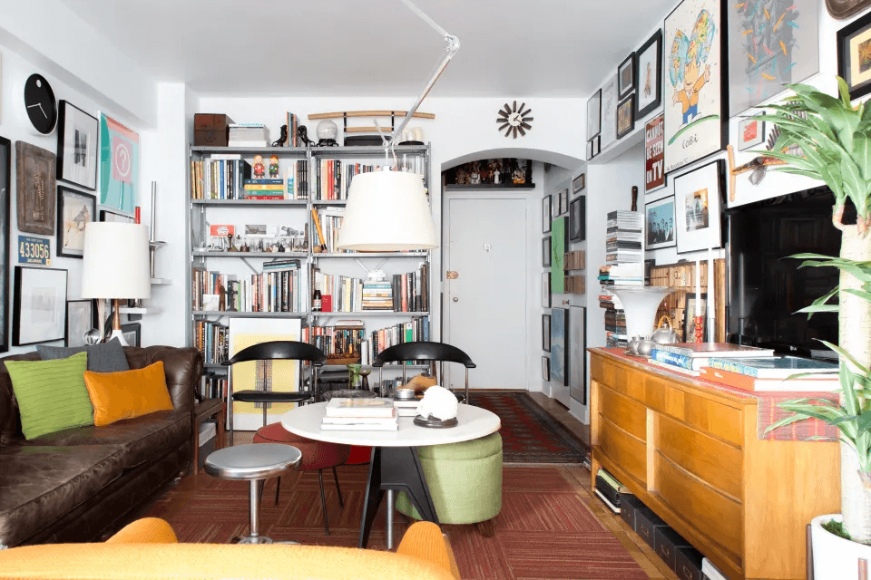Fix a Room with pillows and bookshelves