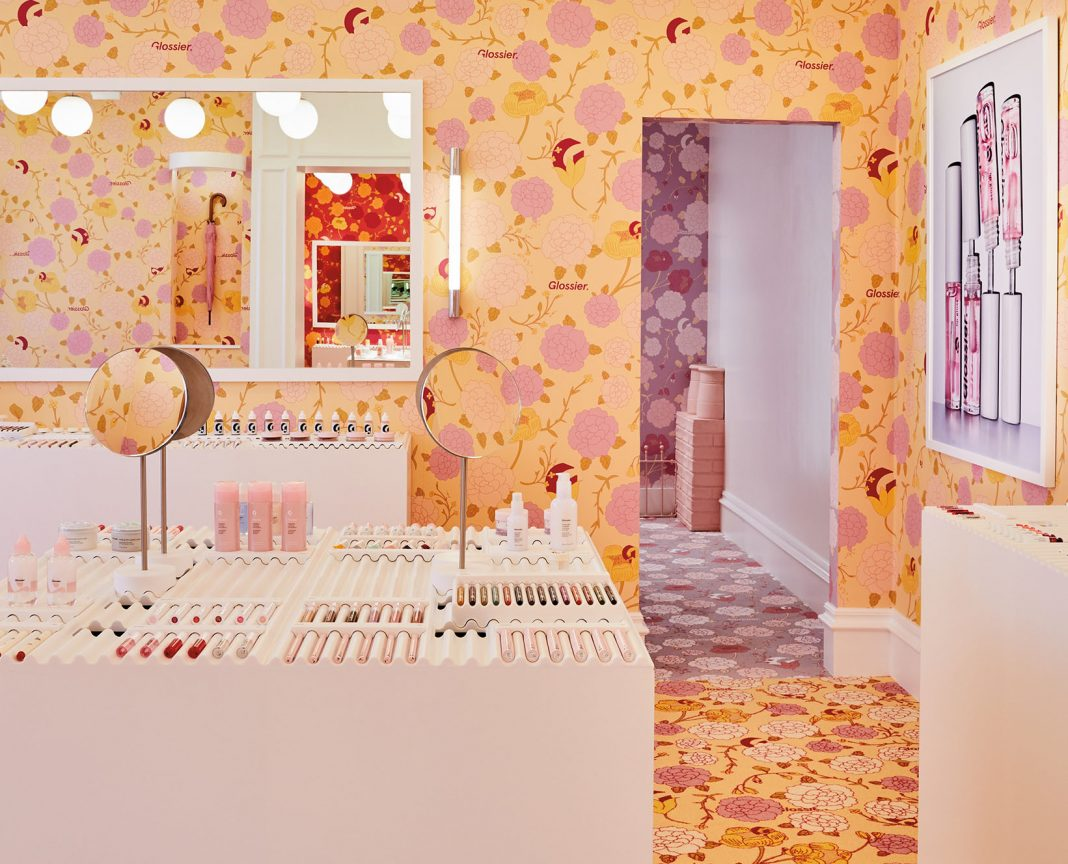 floral pop-up store in London