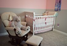 cool nursery for baby girl