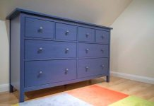 Blue Dresser Pantone Classic Blue
